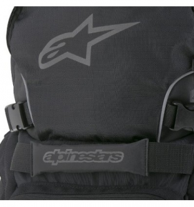 ZAINO MOTO ALPINESTARS FORCE BACK PACK 25 BLACK GRAY SILVER