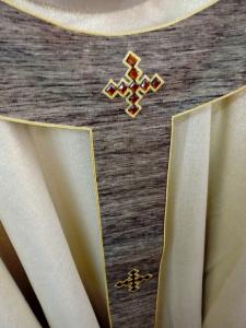 Casula solenne con Pallio in seta