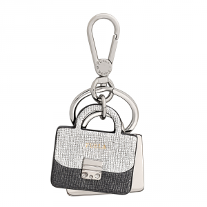 Key ring Furla VENUS 828895 COLOR SILVER