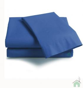 Lenzuola di sopra matrimoniale MAXI 290x310 ISTAR - blu cina