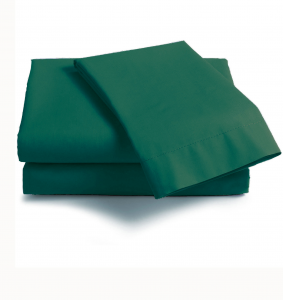 Lenzuola Matrimoniale cotone angoli ISTAR materassi Maxi verde inglese