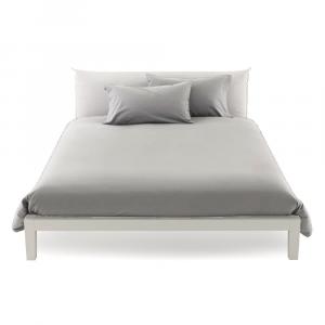 Copripiumino misura maxi 270 x 270 matrimoniale cotone ISTAR - grigio perla