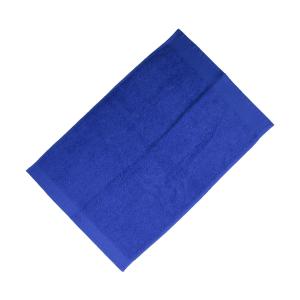 Happidea asciugamano ospite in spugna Voglia di Colore 450 grammi 40x60 cm - bluette