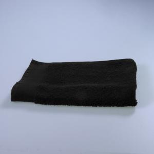 Happidea asciugamano ospite in spugna Voglia di Colore 450 grammi 40x60 cm - nero