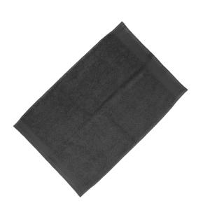 Happidea asciugamano ospite in spugna Voglia di Colore 450 grammi 40x60 cm - grigio