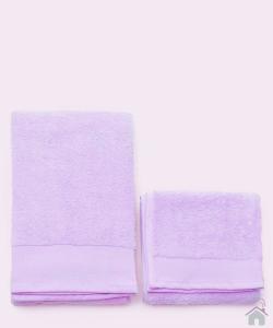 Asciugamano con ospite da bagno Happidea 460 gr Bianco crocus