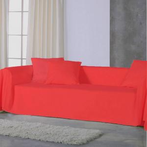 Copridivano copritutto telo Panama 350x280 cm - rosso