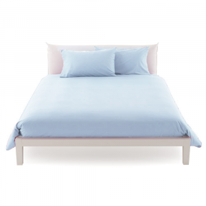 Duvet cover maxi 270 x 270 in various colors ISTAR pure cotton cover-blue