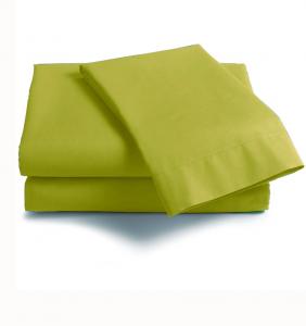 Lenzuola Matrimoniale cotone angoli ISTAR materassi Maxi verde acido