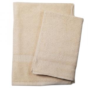 Set asciugamano e ospite SERENITY in spugna COGAL - beige 034
