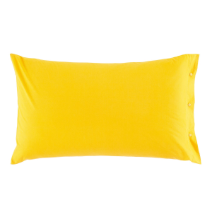 Federa 50x80 cm 100% puro cotone CLIC CLAC Zucchi - giallo 1465