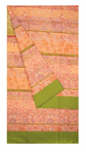 Bassetti Granfoulard telo arredo MONTALCINO v.2 verde puro cotone - 350x270 cm