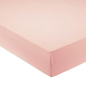Lenzuola con angoli per letto francese 140x200 cm - rosa