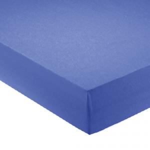 Lenzuola con angoli per letto francese 140x200 cm - bluette