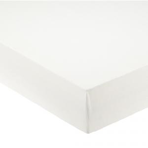 Lenzuola con angoli per letto francese 140x200 cm - bianco