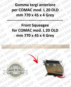 L 20 OLD Gomma tergi anteriore per lavapavimenti COMAC