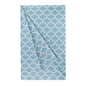 Granfoulard telo arredo copritutto ZUCCHI Easy Chic KAIMI 3 azzurro - 270x270 cm
