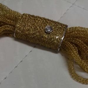 Bracciale donna multifili in oro giallo con brillante, vendita on line | OROLOGERIA BRUNI Imperia