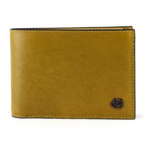 Man wallet Piquadro BLACK SQUARE PU1392B3 R/G