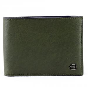 Man wallet Piquadro BLACK SQUARE PU257B3 R/VE