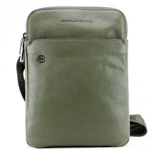 Shoulder bag Piquadro BLACK SQUARE CA3978B3 VERDE