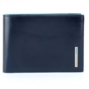 Man Wallet Piquadro BLUE SQUARE PU1392B2 Blu