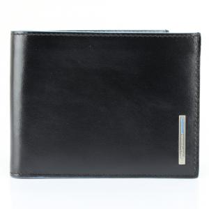 Man Wallet Piquadro BLUE SQUARE PU1241B2 Nero
