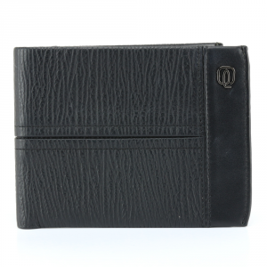 Man Wallet Piquadro SIGN PU1241SI NERO