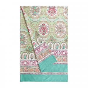 Bassetti Granfoulard telo arredo MURSIA 2 verde - 270x270 cm