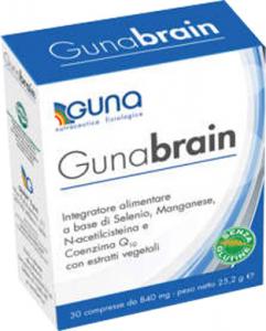 GUNA GUNABRAIN - PER LO STRESS CEREBRALE E I DANNI DAI RADICALI LIBERI