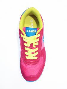 Sneaker fuxia Kamsa