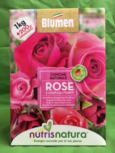 CONCIME NATURALE ROSE