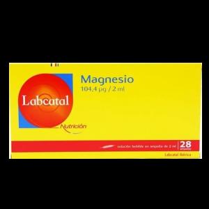 LABCATAL OLIGOSOL OLIGOELEMENTI MAGNESIO 28 FIALE 2 ML