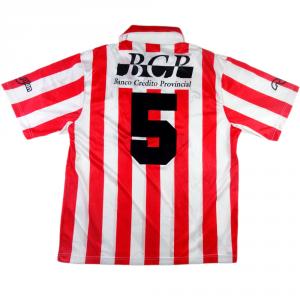1996-97 Estudiantes La Plata MAGLIA Home #5  (Top)