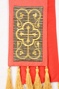Stola SB88A M1 Rossa - lana lurex