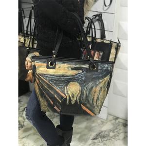 Merinda Shopper Art line woman