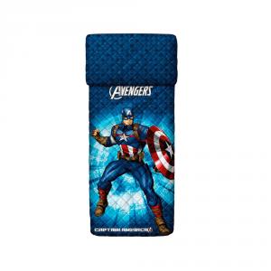 Copriletto trapuntato singolo 1 piazza BASSETTI AVENGERS Captain America