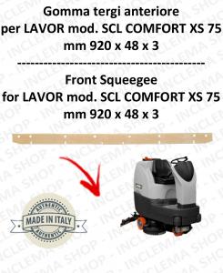 SCL COMFORT XS 75 GOMMA TERGI lavapavimenti anteriore per LAVOR PRO