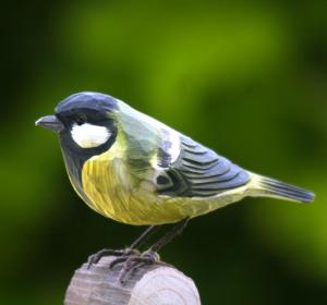 Deco Bird /WG402 - Cinciarella