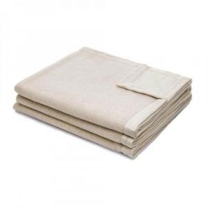 Coperta 220x250 cm in lana merino MARZOTTO-LANEROSSI Fiordiloto beige