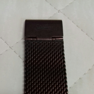 Orologio Sixties Uomo/Donna in acciaio ramato cinturino maglia Milano in acciaio ramato, vendita on line | OROLOGERIA BRUNI Imperia
