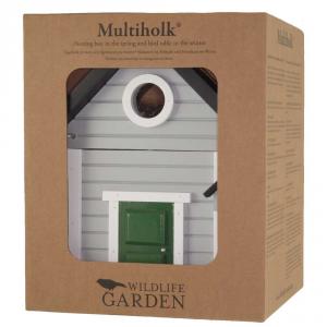 Casa per uccelli /WG119 - Multilok Cottage grigio