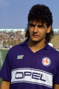 1985-86 Fiorentina Maglia Home Match Worn #14 (Top)