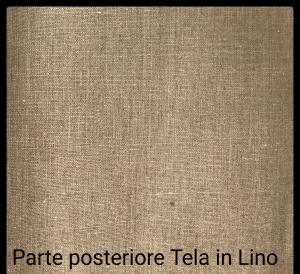Tele Gallery 40mm in Lino 100% - profilo telaio 4 cm - Tele per dipingere in Puro Lino Gallery