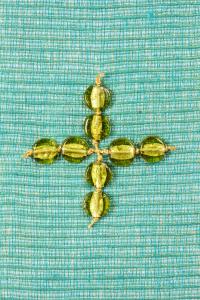 Stola SP304 M2 Verde - Seta Greggia