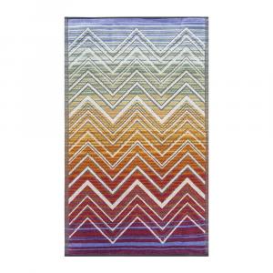 Missoni Home Bath sheet TOLOMEO 159 purple 80 x 160 cm