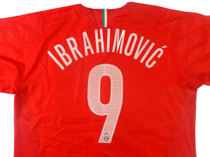 purchase cheap dfa91 610f8 2005-06 Juventus Ibrahimovic shirt # 9 Away XL