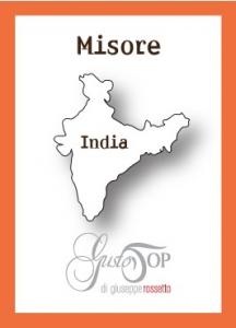 Caffè monorigine in cialda India Mysore, confezione da n. 50 cialde in carta ese 44 mm compatibili