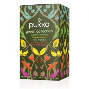 Tè verde Pukka Green Collection - Collezione di tè verdi