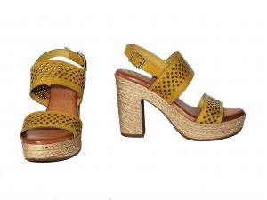 Sandalo giallo Raquel Perez